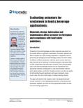 Food and beverage industry white paper